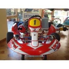 TELAIO BIREL  CR31-SV + MOTORE TM K8 125cc N1