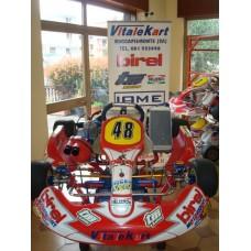 TELAIO BIREL  CRY30-S1 + MOTORE TM K8 125cc  N48