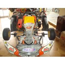 TELAIO MAD CROC MINI + MOTORE LKE 60cc ENTRY LEVEL  N51
